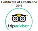 certificate of excellence 2015 trip advisor